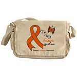 Leukemia For My Wife Messenger Bag