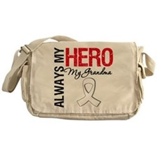 LungCancerHeroGrandma Messenger Bag