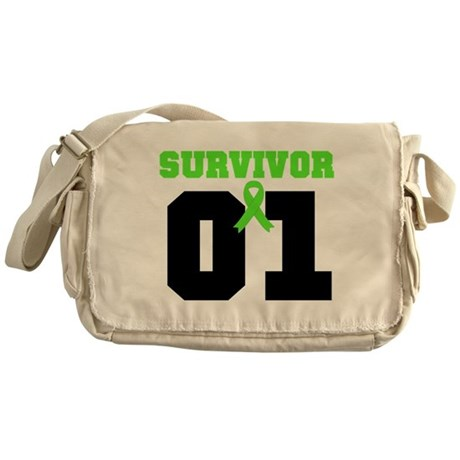 Lymphoma Survivor 1 Years Messenger Bag