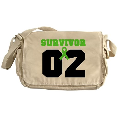 Lymphoma Survivor 2 Years Messenger Bag