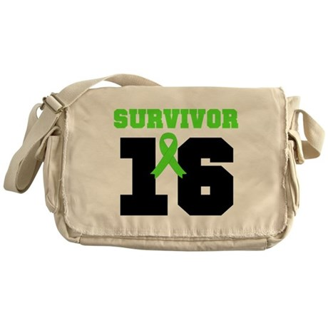 Lymphoma Survivor 20 Year Messenger Bag