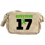 Lymphoma Survivor 17Year Messenger Bag
