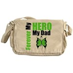 Lymphoma Hero Dad Messenger Bag