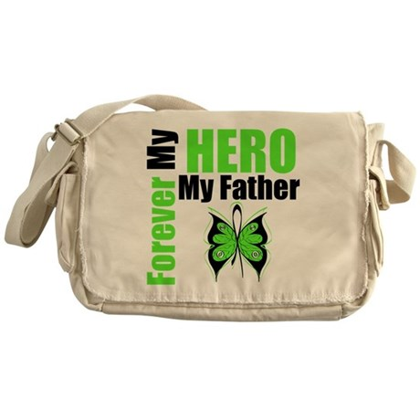 Lymphoma Hero Father Messenger Bag
