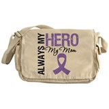 Hodgkin's Hero Mom Messenger Bag