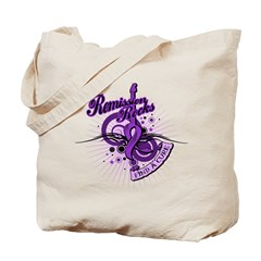 Pancreatic Cancer RemissionROCKS Tote Bag