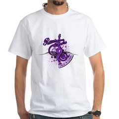 Pancreatic Cancer RemissionROCKS White T-Shirt