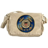 Vintage Coast Guard Messenger Bag