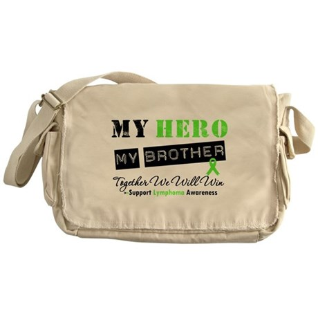 Lymphoma Hero Brother Messenger Bag