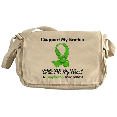 LymphomoaSupportBrother Messenger Bag