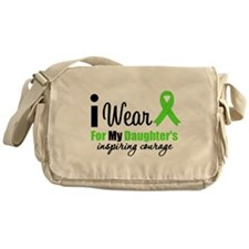 LymphomaCourageDaughter Messenger Bag