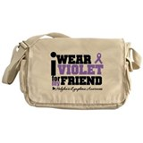 I Wear Violet For Friend Messenger Bag