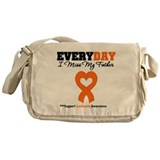 Leukemia MissMyFather Messenger Bag