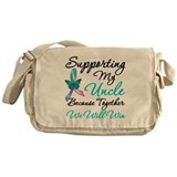 Thyroid Cancer Uncle Messenger Bag