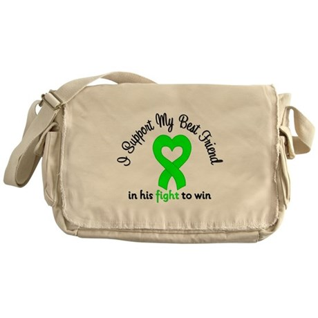 Lymphoma BF (Male) Messenger Bag