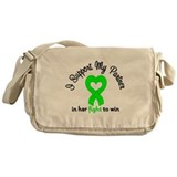 LymphomaSupport HER Fight Messenger Bag
