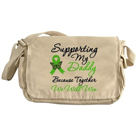 Lymphoma Support (Daddy) Messenger Bag