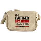 Lung Cancer Hero Messenger Bag