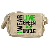 I Wear Lime Green Uncle Messenger Bag