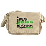 I Wear Lime Green Partner Messenger Bag