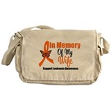 Leukemia InMemory Uncle Messenger Bag