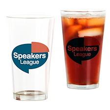 Funny Educational speaker Drinking Glass
