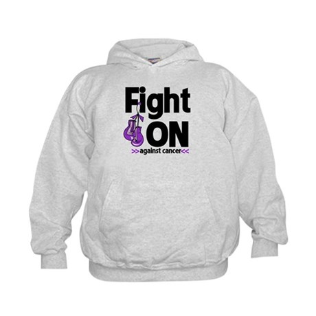 Fight On Pancreatic Cancer Kids Hoodie