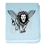 Lion of Judah baby blanket