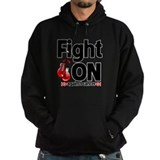 Fight On Oral Cancer Hoodie