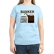 Banker Chocoholic Gift T-Shirt