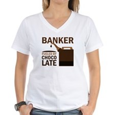 Banker Chocoholic Gift Shirt