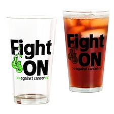 Fight On Non-Hodgkins Lymphoma Drinking Glass
