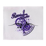 Hodgkin's Lymphoma Remission Throw Blanket