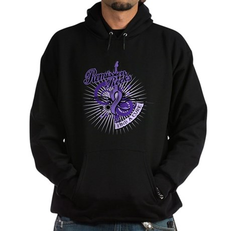 Hodgkin's Lymphoma Remission Hoodie (dark)