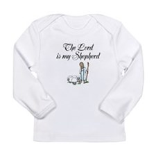 The Lord is my Shepherd Long Sleeve Infant T-Shirt