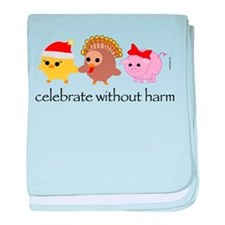 Celebrate Without Harm baby blanket