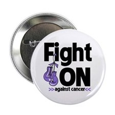 "Fight On Hodgkins Lymphoma 2.25"" Button"