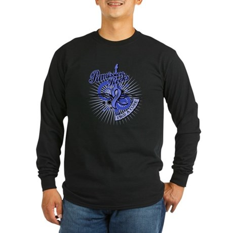 Esophageal Cancer Remission Long Sleeve Dark T-Shi