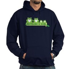 recycling is cool Hoodie