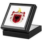 Albanian Kingdom Coat of Arms Keepsake Box