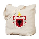 Albanian Kingdom Coat of Arms Tote Bag