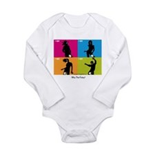 WTF - Why The Foley 04 Long Sleeve Infant Bodysuit