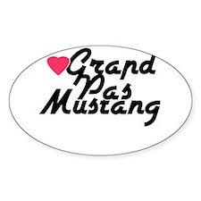 Grand Pas Mustang Decal