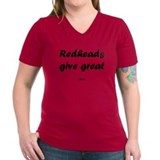 redheads give great Shirt