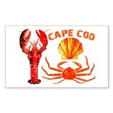 Cape Cod - Lobster, Crab and Decal