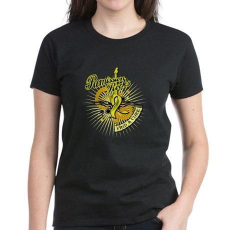 Bladder Cancer Remission ROCK Women's Dark T-Shirt