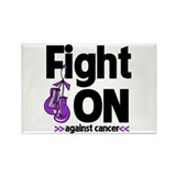 Fight On GIST Cancer Rectangle Magnet (10 pack)