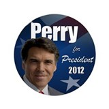 Rick Perry 2012 3.5&amp;quot; Button