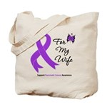 Pancreatic Cancer Wife Tote Bag
