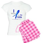 Colon Cancer Wife Women's Light Pajamas